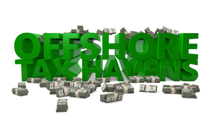 Offshore Tax Haven Savings Finance Dodging